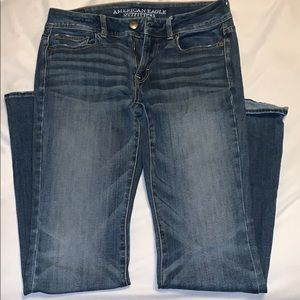 American Eagle flared/wide leg  jeans